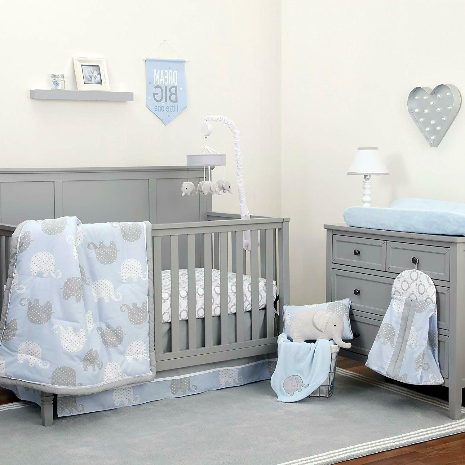 dreamer collection elephant blue grey