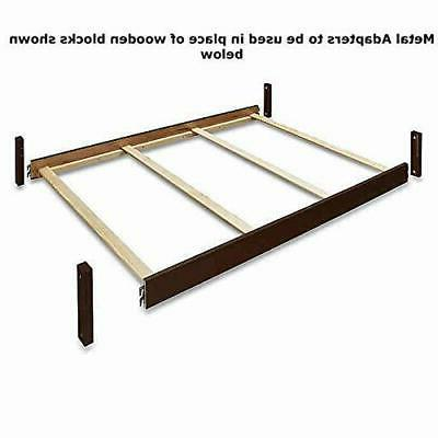 Durable Metal Adapter Kit for Sorelle Unique Crib Design Con