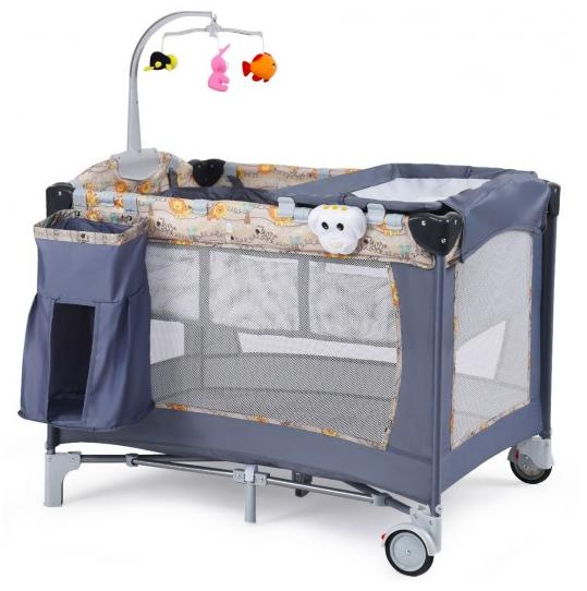 Folding Infant With Toys Portable Changer