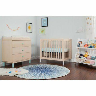 Babyletto 2 in 1 Crib Washed and