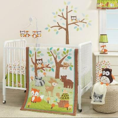 lambs and ivy friendly forest 3 piece
