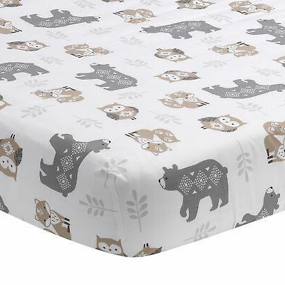 Lambs & Forest Nursery 5-Piece Baby - Gray