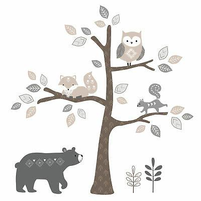 Lambs & Forest Animal Baby - Gray
