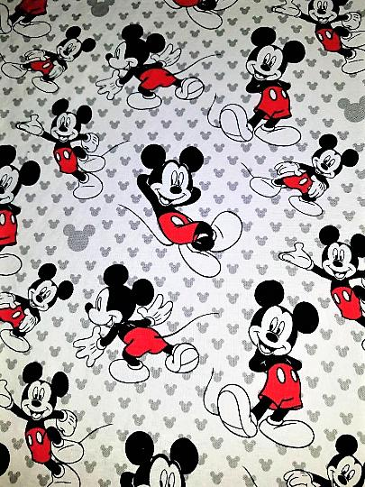 mickey mouse cotton crib or toddler bed