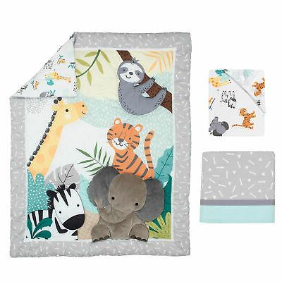 Bedtime Animals Baby Crib Bedding