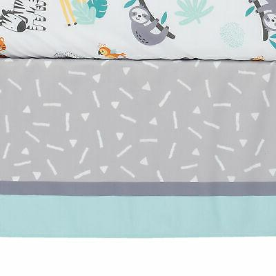 Bedtime Originals Mighty Animals 3-Piece Crib