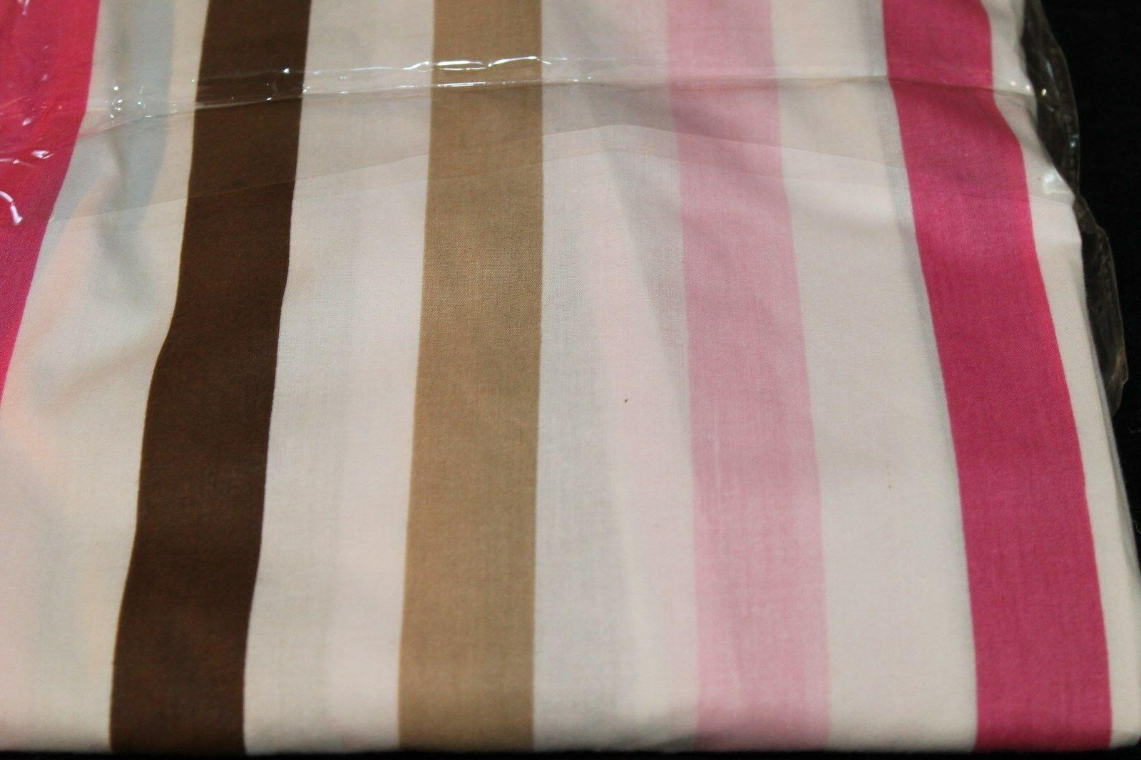Bacati Mod Dots Pink Brown Sheet girls