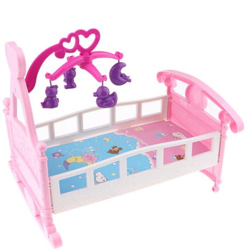Simulation Doll Bed Cribs Cradle For Baby Dolls