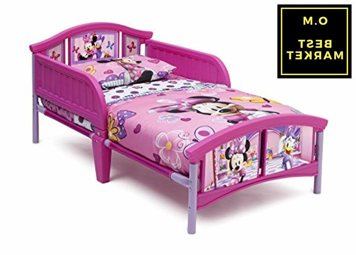 Toddler Mouse With Rails Steel Mattress