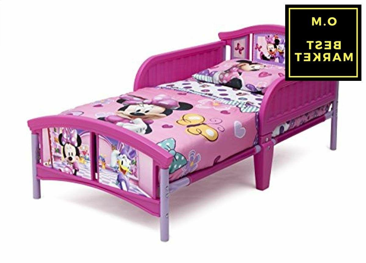 toddler bed minnie mouse with safety guard