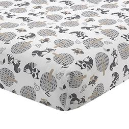 Bedtime Originals Little Rascals Forest Animals Fitted Crib
