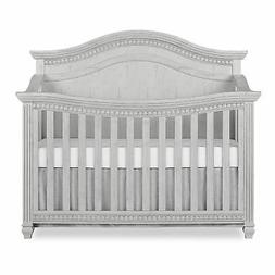 Evolur Madison 5 in 1 Curved Top Convertible Crib, Antique G