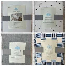 NEW Cloud Island Fitted Crib Sheet 100% Cotton YOU CHOOSE CO