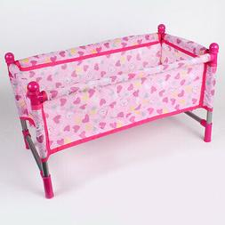 Nursery Room Furniture Decors - ABS Baby Doll Crib Bed Kids