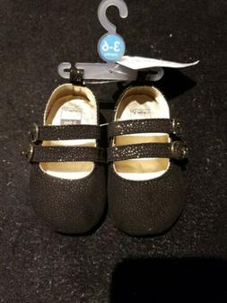 NWT Carter's 3-6m 3-6 months infant girl mary jane crib shoe