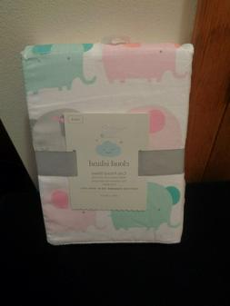 Cloud Island NWT Fitted Crib Sheet 100% Cotton Multi Color E