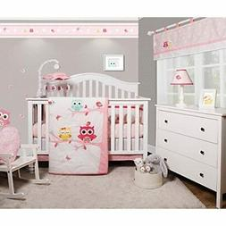 GEENNY OptimaBaby Enchanted Owls Family 6 Piece Baby Girl Nu