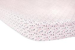 Babyletto Oval Fitted Crib Sheet, In Bloom