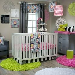 Glenna Jean Pippin 3 Piece Crib Set - Quilt, Fitted Sheet, B