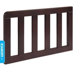 Solutions by Kids R Us Curved Toddler Guard Rail - Dark Choc
