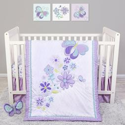 Trend Lab Sammy and Lou Butterfly Meadow 4 Piece Baby Nurser
