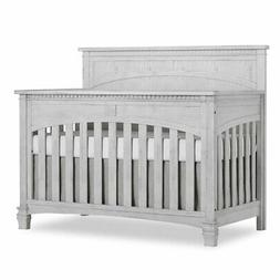Evolur Santa Fe 5-in-1 Convertible Crib in Antique Gray Mist