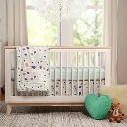 Babyletto Scoot 3-in-1 Convertible Crib, White/Washed Natura