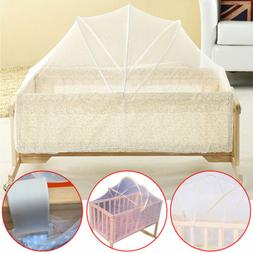 Summer Cradle Bed Canopy Crib Tent Toddler Crib Cot Mosquito