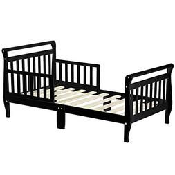 TODDLER SLEIGH BED BLACK