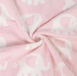 TILLYOU Ultra Soft Sweater Knit Baby Blanket Toddler Bed/Cri