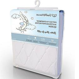 Waterproof Mattress Protector Quilted Cotton Pad Breathable