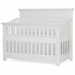 Evolur Waverly 5 in 1 Convertible Crib in Weathered White